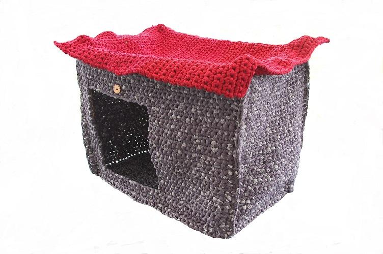 strick mir indoor hundehaus katzenhaus vegan. Black Bedroom Furniture Sets. Home Design Ideas
